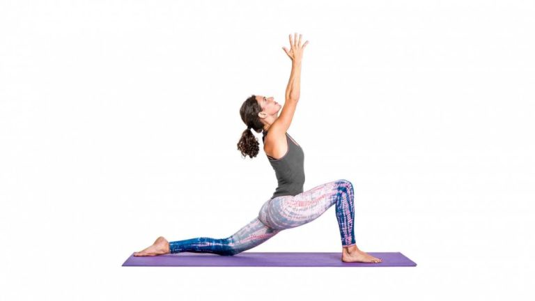 Crescent Low Lunge Pose