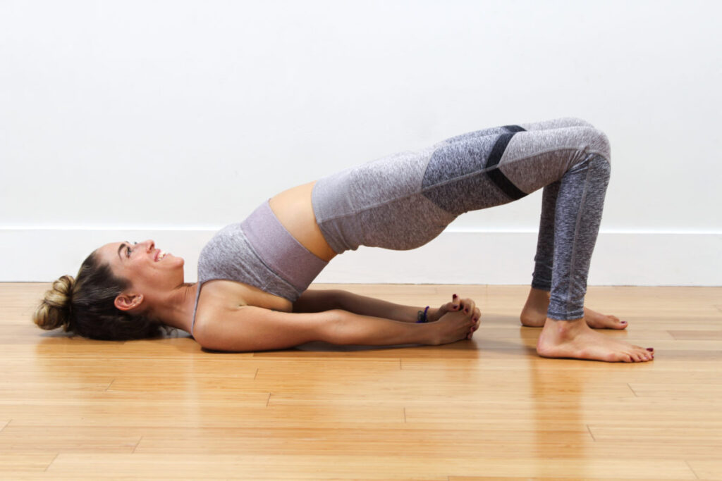 Setu Bandha Sarvangasana ( Bridge Pose)