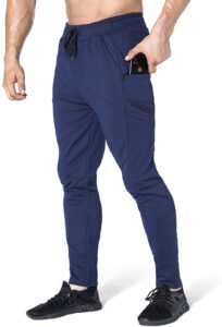 BROKIG Men's Zip Jogger Pants