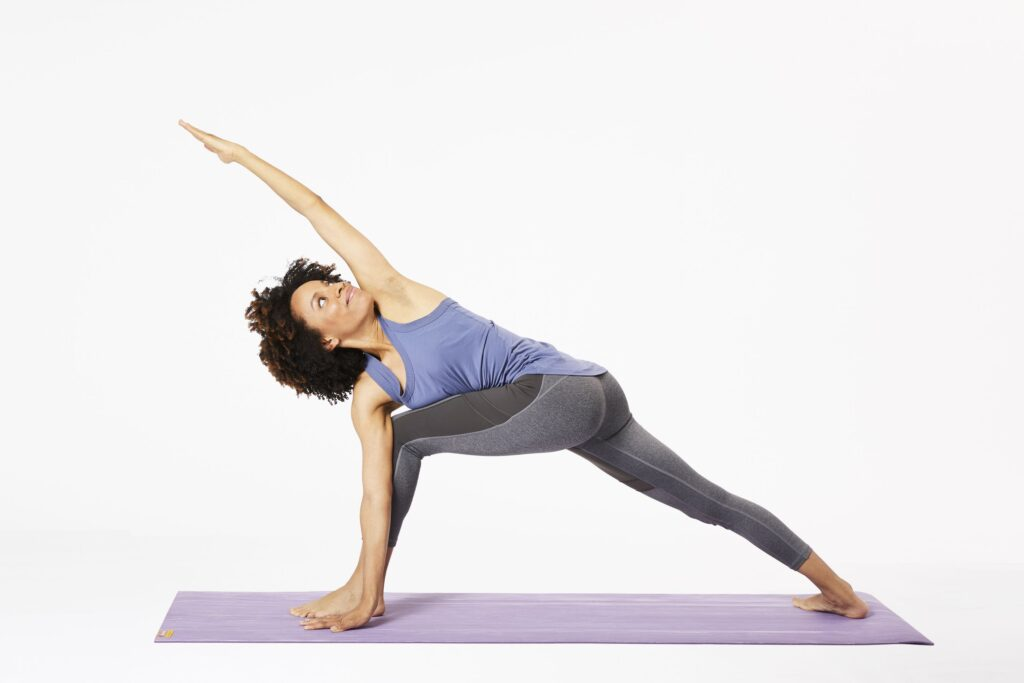Revolved Side Angle Pose (Revolved Eight Point Crescent Moon Pose)