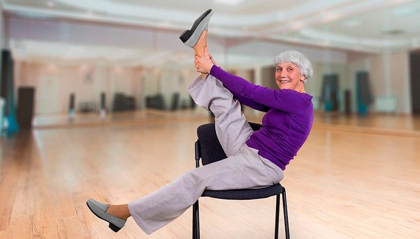 Gentle Chair Yoga For Seniors
