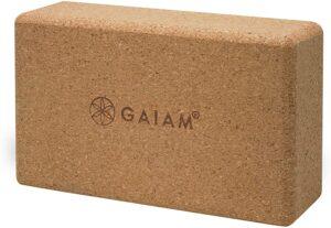 Gaiam Cork Yoga Block