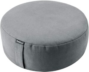 REEHUT Zafu Yoga Meditation Cushion